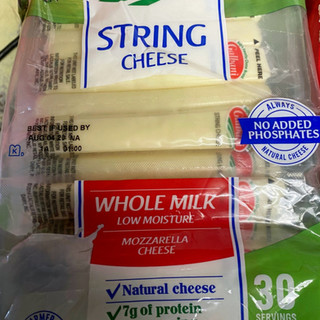 Whole Milk String Cheese