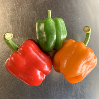 Tri-Color Bell Peppers