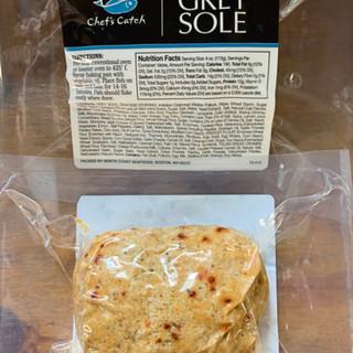 North Coast Seafood - Stuffed Grey Sole