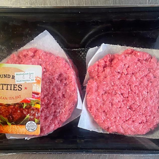 Ground Beef Patties - 85% Lean/15% Fat