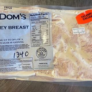 Dom's Turkey Breast Tips - Creamy Ceasar