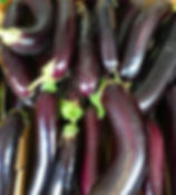 Organic eggplant! Perfect for baking and