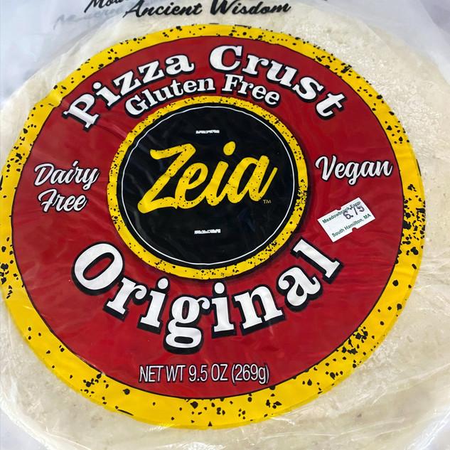Zeia Original Pizza Crust - Gluten Free