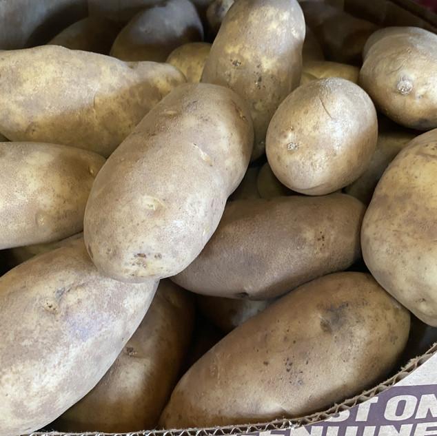 Large Brown Potatoes