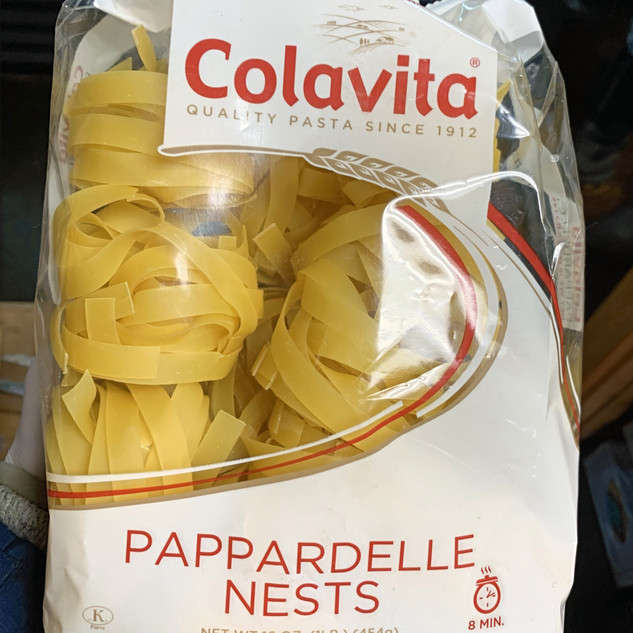 Pappardelle Pasta Nests