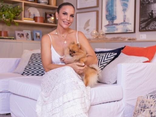 Live de Ivete Sangalo arrecada mais de R$ 400 mil em parceria com a Globo