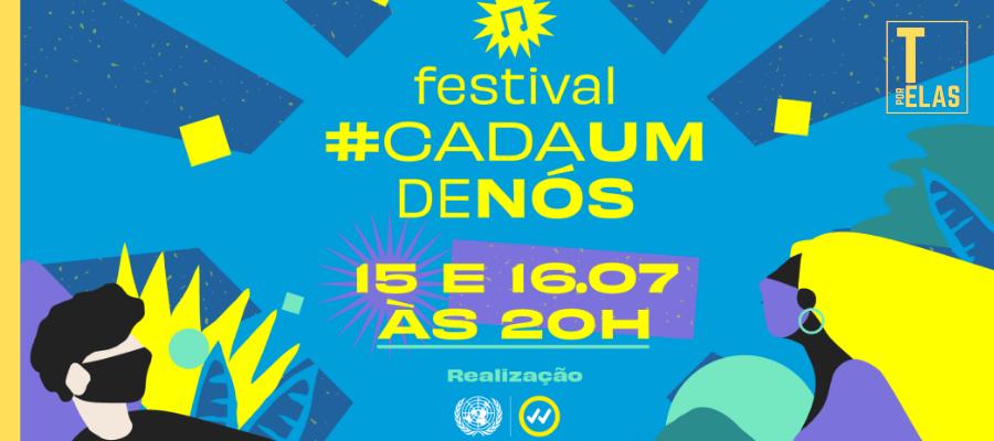ONU realiza Festival #CadaUmDeNós para conscientizar jovens sobre a pandemia