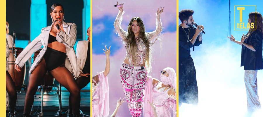 Anitta, Karol G, Camilo e Kany García - Grammy Latino 2020. Confira vencedores e apresentações