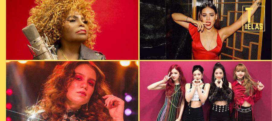 Confira os lançamentos desta sexta: Carol Biazin, Elza, BLACKPINK, Danna Paola, Haim e mais