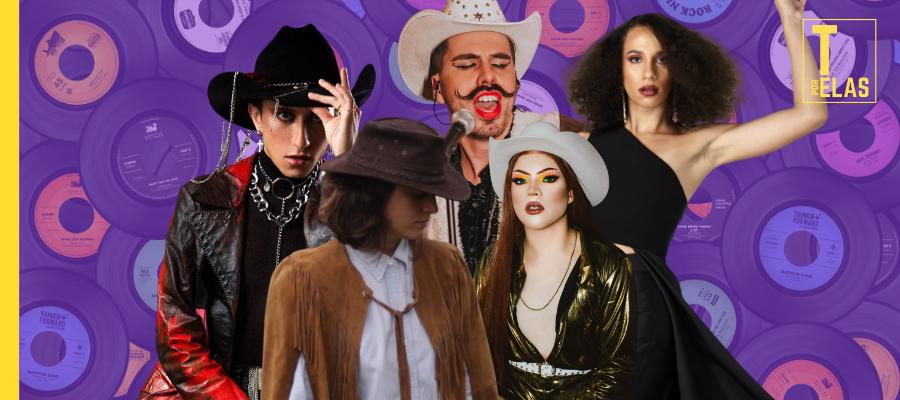 5 nomes do Queernejo que precisam estar na sua playlist