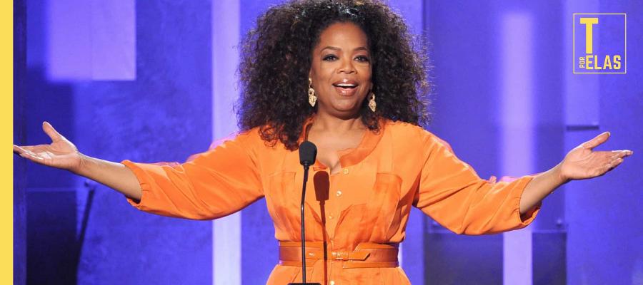 A apresentadora, jornalista, atriz e empresária norte-americana Oprah Winfrey │ Foto: Reprodução