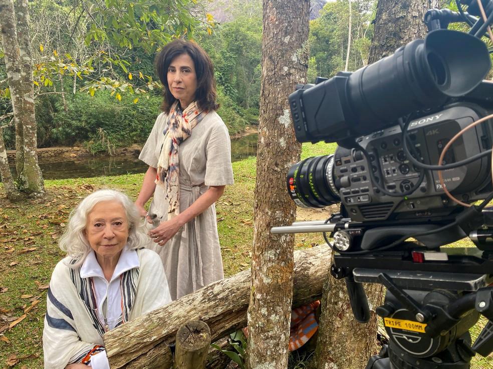 """Fernanda Montenegro e Fernanda Torres em """"Amor e Sorte"""" │ Foto: Divulgação / TV Globo"""