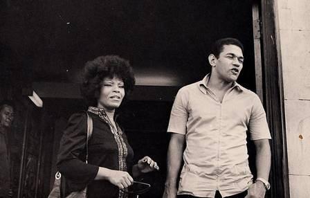 Elza Soares e Garrincha em 1971.