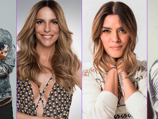 Ivete Sangalo e outras estrelas latinas se unem em single contra pandemia de Covid-19