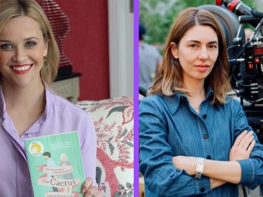 Reese Witherspoon e Sofia Coppola anunciam projetos com Netflix e Apple TV+, respectivamente