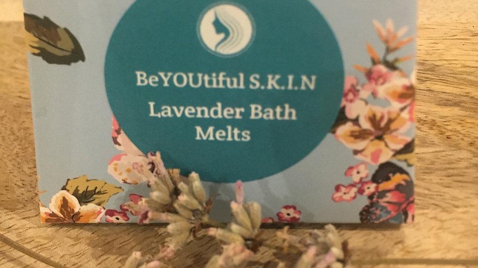 Lavender Bath Melts x 4 Gift Boxed