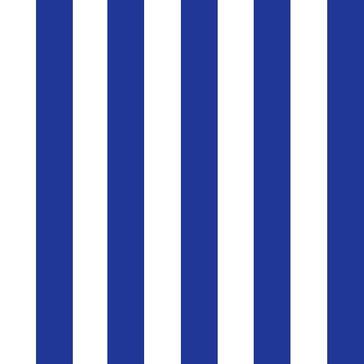 Lampe sur Mesure à composer. Tissu toile type store rayé bleu azur largeur rayure environ 4 cm