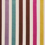 Lampe sur Mesure à composer. Tissu toile type store rayé multicolore largeur rayure environ 1,5 cm
