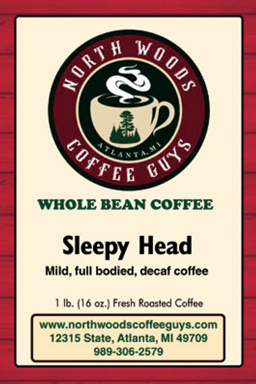 Sleepy Head - DECAF