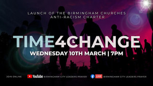Time4Change Launch Event