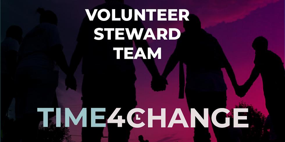 Volunteer Stewarding Team   Time4Change Service