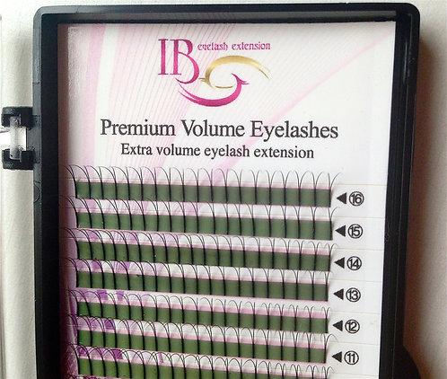 2D Premium Volume Lashes, C0.10 Mix