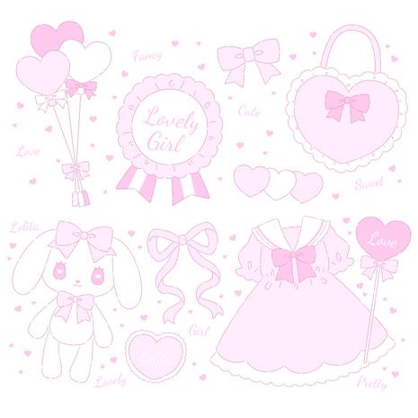 Fancy Motif - pink -
