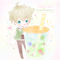 DRAMATIC PARLOUR ~ tapioca soda