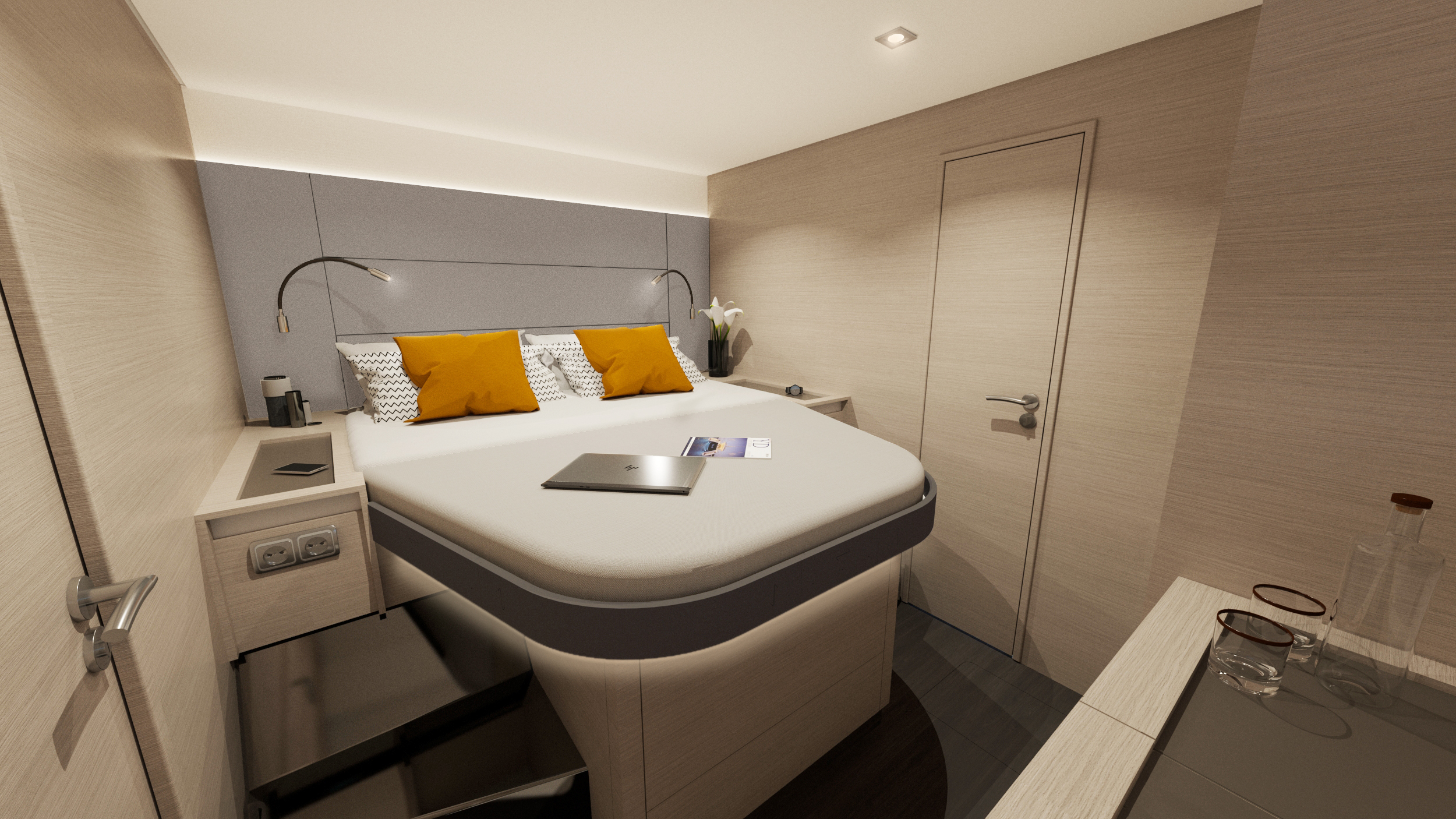 Fountaine-Pajot-New-51-Interiors-VIP-cab