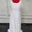 Thumbnail: Size 20 White Floral Lace