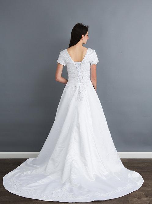 NEW Size 6-10 White Corset Lace