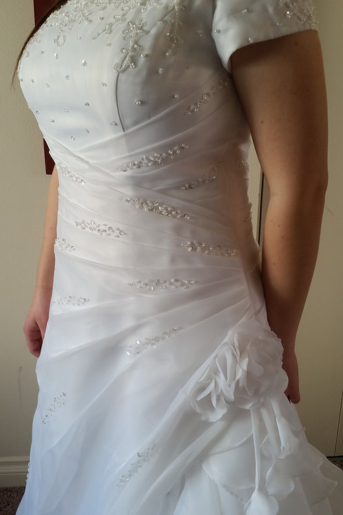 Size 14/16 Allure Wrap-Around Dress