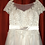 Thumbnail: NEW Size 12 White Illusion Lace Ballgown
