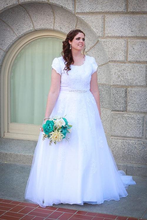 My Modest Gown: Budget Modest Wedding Dresses | Size 14 Beautiful ...