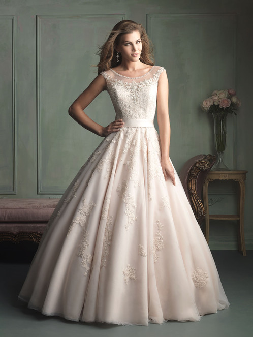 NEW Size 8 Gorgeous Allure Ball Gown