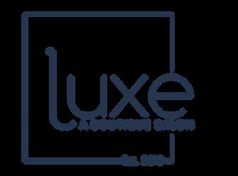 Luxe hair salon Austin TX logo