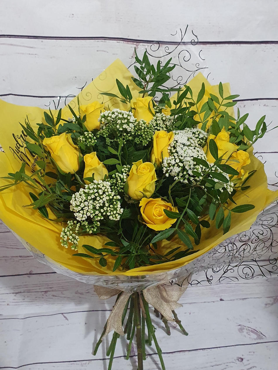 Say it with Roses - Hand Tied