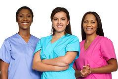 Multi ethnic group of nurses..jpg
