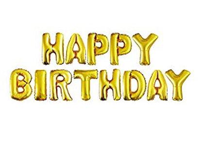 HAPPY Birthday foil mylar helium Balloons 13pc lot