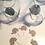 Thumbnail: 2 Elephant Glass Bottles + 24 gray Elephant Cupcake Toppers