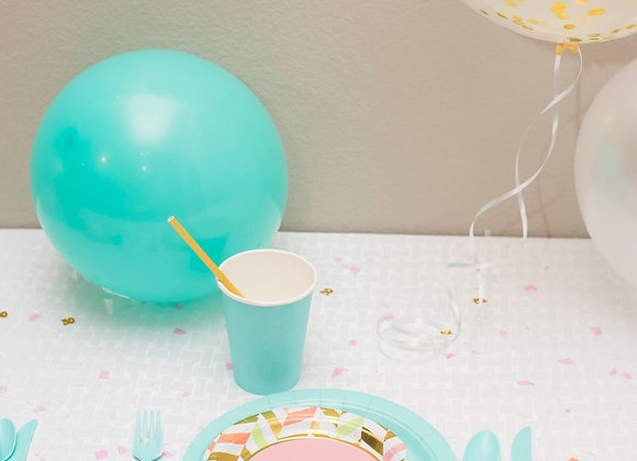 Playful Pastel Party Smart Pack for 8 Guests