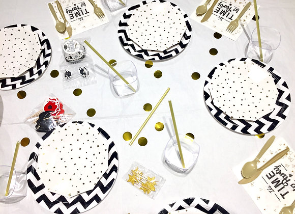 Black Star Party Smart Pack for 16 guests