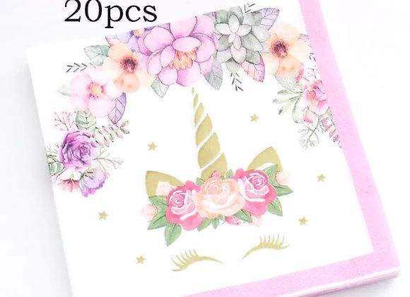 Unicorn Napkins - 20pcs