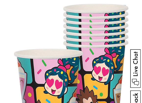 Wreck-it Ralph & Vanelope 9oz Paper Cups 8ct
