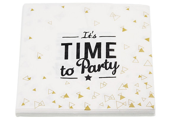 Its Time to Party Dinner Napkins 8ct