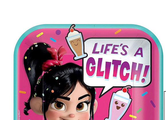 Wreck-it Ralph, Vanelope Life's a Glitch Dessert Plates