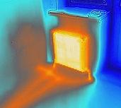Экспертиза тепловизором скрытых в полу труб