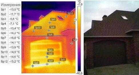 Обследование тепловизором, независимая экспертиза дома