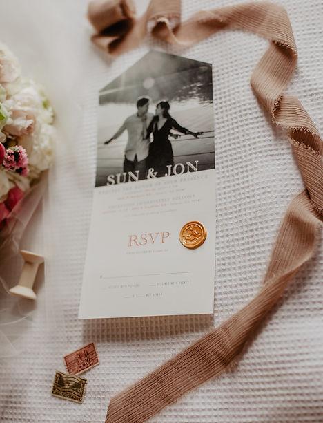 Charleston Weddings Marisa Romagnuolo Invitation