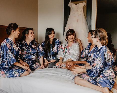 Charleston Weddings Marisa Romagnuolo Bridesmaids